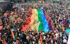 LGBT Pride March began in 1970, as did Pride parades in Los Angeles, Chicago, and San Francisco that year. Description from pediaview.com. I searched for this on bing.com/images