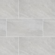 MSI Himalayan Gray 12 in. x 24 in. Glazed Porcelain Floor and Wall Tile sq. / - The Home Depot MSI Himalayan Gray 12 in. x 24 in. Glazed Porcelain Floor and Wall Tile sq. Grey Bathroom Tiles, Bathroom Flooring, Kitchen Flooring, Wall Tiles, Small Bathroom, Master Bathroom, Gray Tiles, Ceramic Tile Bathrooms, Gray Shower Tile