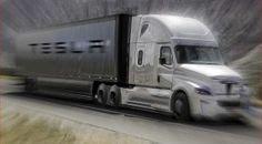 Tesla plans to sell trucks: big semis pickups too