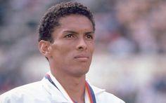 Joaquim Cruz ficou com a prata nos 800m das Olimpíadas de 1988. Foto: Tony Duffy/Getty Images