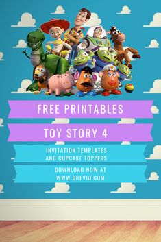 Toy Story Baby Shower Invitations Best Of Free Printable toy Story 4 Invitation Templates Free Toy Story Invitations, Free Printable Birthday Invitations, Party Invitations Kids, Baby Shower Invitations, Invitation Ideas, Invitation Cards, Wedding Invitations, Fête Toy Story, Toy Story Baby