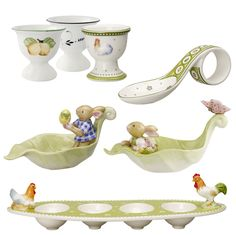 egg cups | Easter egg cups by Villeroy & Boch