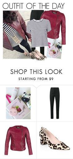 """""""OOTD #40"""" by ella178 ❤ liked on Polyvore featuring TONYMOLY, Yves Saint Laurent, Naf Naf, Kate Spade, A.L.C., Fall, fashionista, ootd and fallstyle"""