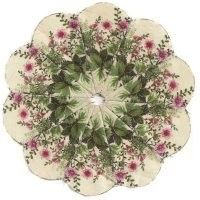 Dresden Kaleidoscopes - Fussy Cut article on Quilting Board at…