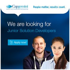 Capgemini is recruiting new talents to join their team in Espoo! Apply now! Job Opening, Career, Join, Take That, How To Apply, People, Carrera, People Illustration