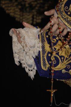 Año 2011 - Rosario y pañuelo de Ntra. Sra. de las Mercedes