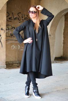 XXLXXXL Maxi Dress / Extravagant Long Dress / by EUGfashion