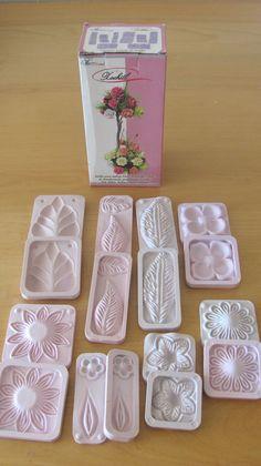 Flower Molds 3D KIT Foam Craft, Moldes DE Flores de Foamy/FOFUCHAS+ FREE GIFT