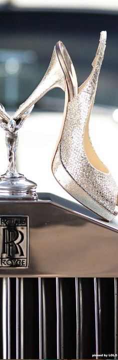 Rolls Royce and Jimmy Choo - the ultimate in style? Click to for more inspiration