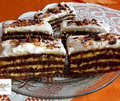 Viktória szelet Recept képpel - Mindmegette.hu - Receptek Homemade Baileys, Baileys Recipes, Hungarian Desserts, Hungarian Recipes, Poppy Cake, Cake Bars, Recipe Using, Dessert Recipes, Food And Drink