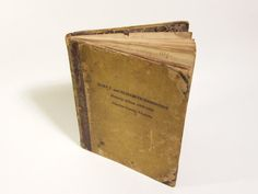 Handwritten poetry book circa 1833