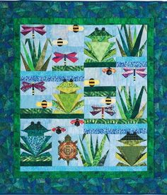 Over by the Pond Quilt Pattern by The Quiltmaker Pattern Collection at Creative Quilt Kits