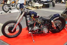 Great pics from the New Order Chopper show on Rad Jalopy Motorcycle Types, Motorcycle Travel, Moto Bike, Bobber Bikes, Cool Motorcycles, Homemade Motorcycle, Custom Sportster, Cafe Racer Style, Harley Bobber
