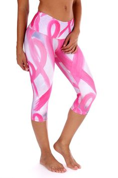 b384e9d620c4fb Pink Ribbon ll Capri These beautiful Brazilian capri's are super fun and  durable providing a four