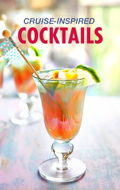 The food on Carnival is legendary. But wait until you try the drinks. Here are the best cruise cocktail recipes you can try at home.