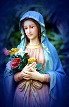 beautiful mother mary
