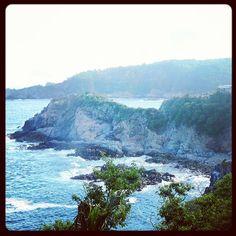 Vista panorámica de punta bañada, Puerto Ángel #Pochutla