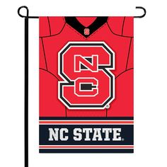 "NC State Wolfpack 12.5"" x 18"" Double-Sided Jersey Foil Garden Flag - $9.59"