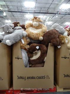 Jungle Animal Chairs Costco 2