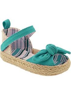 Old Navy Bow-Tie Sandals for Baby