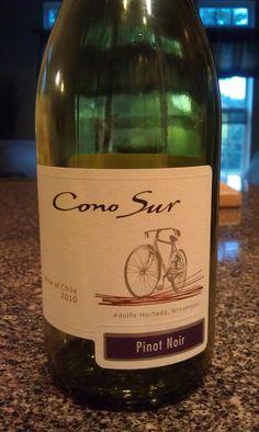 Cono Sur Pinot Noir 2010 (Chile) - Ótimo vinho (18.mai.2012)