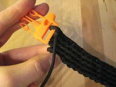 How to braid a paracord belt!