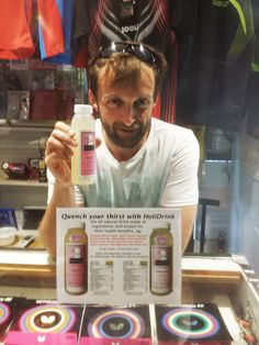 We are pleased that HoliDrink is now available at Vancouver Table Tennis Club at 3925 Fraser St, Vancouver. It seems Holi EH (Extra Holi, aka the spicy ginger one) is very popular among the sport people there.