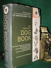 THE COMPLETE DOG BOOK OFFICIAL PUBLICATION OF THE AMERICAN KENNEL CLUB 1964 EDIT