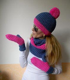 Crochet Scarves, Knit Crochet, Crochet Hats, Knitting For Beginners, Crochet Projects, Headbands, Knitted Hats, Crochet Patterns, Beanies