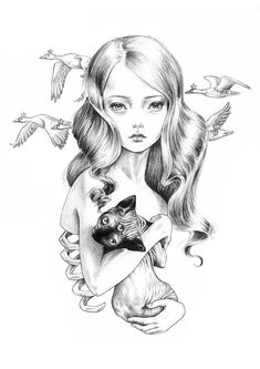 LAST ONE - No Wild Thing Is Sorry For Itself art print - limited edition
