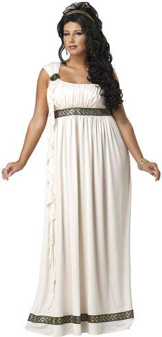Olympic Goddess Plus Size Costume - Historical Costumes at Escapade UK - Escapade Fancy Dress on Twitter: @Escapade_UK