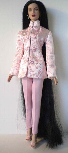 Samihart ensemble: pink brocade oriental