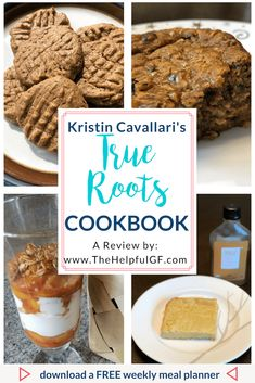 Read my full review of the True Roots Cookbook by Kristin Cavallari.  It's full of gluten-free, dairy-free, and refined sugar-free recipes like buffalo chicken, blueberry cashew bars, and more.  It's the perfect addition for those on a gluten-free and/or dairy free diet. #glutenfree #dairyfree #glutenfreecookbook