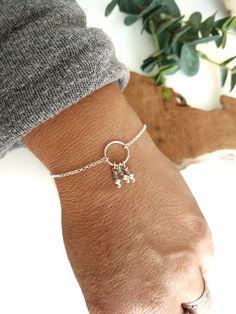 labradorite dreamcatcher LILO silver bracelet 925 beaded bracelet Christmas gift idea