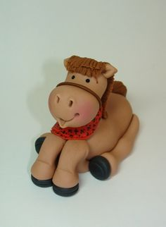 hors, fondant cakes, cake toppers