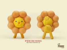 Mr Donut, Japan Pon de ring!!!!!