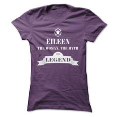 EILEEN, the woman, the myth, the legend  #EILEEN. Get now ==> https://www.sunfrog.com/EILEEN-the-woman-the-myth-the-legend-hjyicmaspl-Ladies.html?74430