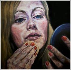 makeup_portrait_nikki_oil_painting_boston_artist_nick_ward