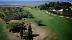 """Onyria Palmares Beach & Golf Resort - Designed by mother-nature, Palmares highlight itself in the Algarve coast because of the prime location, faced to this incredible blue scenario of the Alvor lagoon, the """"meia-praia"""" beach and the Lagos bay. A Perfect contrast with the green of this unique 27-hole golf course designed by Robert Trent Jones II, which the links holes along the beach and the great views are the highlighting points."""
