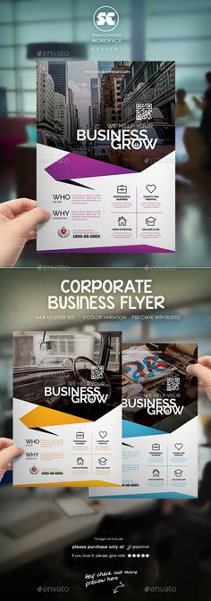 Creative Corporate Flyer / Magazine Ads - Corporate Business Cards Download here : http://graphicriver.net/item/creative-corporate-flyer-magazine-ads/12643869?s_rank=1749&ref=Al-fatih