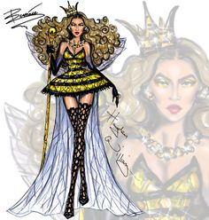 Haute Halloween: Killer Queen Bey by Hayden Williams
