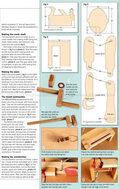 Woodworker - Automata Toy Plans - Wooden Toy Plans