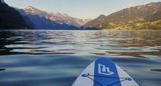 Late evening sunshine on Walensee lake, Switzerland Late Evening, Surfboard, Switzerland, Sunshine, Relax, Keep Calm, Surfboard Table, Skateboarding