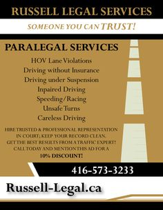 Services: Graphic Design   #Paralegal #Legal #Traffic #SmallClaims #EmploymentLaw Greater Toronto Area, Paralegal, Graphic Design, Visual Communication