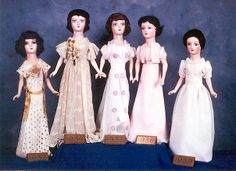 Class Dolls at Meredith College, Raleigh, NC.
