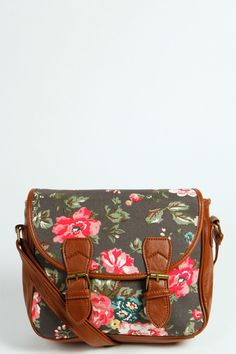 Laura Floral Shoulder Bag.