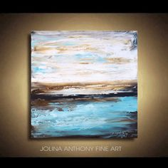 original painting abstract painting landscape por jolinaanthony