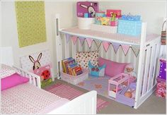 altes babybett ideen recycling spielhaus kinderzimmer puppen old baby bed ideas recycling play house