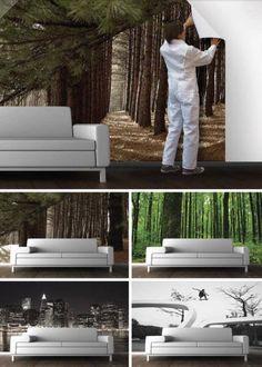 Instalación de Foto Murakes. Miles de diseños en www.decokarq.cl Av. Cristobal Colón 6560 Local 8, Las Condes. Fono: 22245050