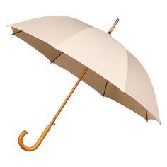 Warwick - Windproof Walking Umbrella Beige